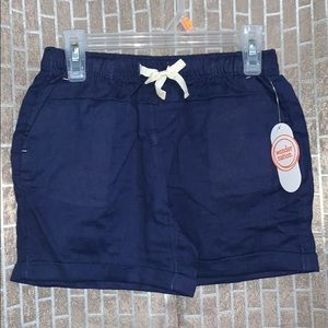 Navy shorts 7/8
